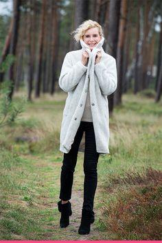 Teddykåpe Vest, Fashion, Moda, Fashion Styles, Fashion Illustrations