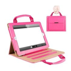 Handbag Case For Apple iPad Mini 1 2 3 Luxury PU Leather Stand Cover Fashion Portfolio Case for Men Women 2016 New Design