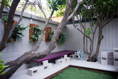 The next time you visit a builders supply merchant, or ask at your local Builders Warehouse, think how breeze blocks can save you money… Cinder Block Furniture, Cinder Block Bench, Cinder Block Garden, Cinder Blocks, Outdoor Seating, Outdoor Decor, Staghorn Fern, Concrete Blocks, Shade Garden