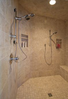 1000 images about large walk in shower on pinterest for Huge walk in shower
