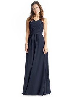 AZAZIE PIERRETTE. Pierrette is our floor-length gown in an A-line cut. #Bridesmaid #Wedding #CustomDresses #AZAZIE