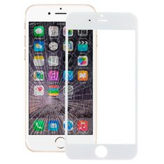 [USD1.36] [EUR1.28] [GBP1.00] iPartsBuy Front Screen Outer Glass Lens for iPhone 6(White)