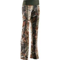 Woman's underarmour camo pants