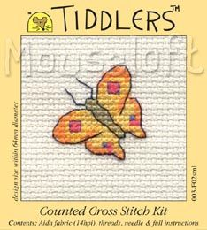 Brand new Mouseloft Tiddlers Kit - Yellow Butterfly