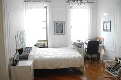 Bright, airy, HUGE bedroom.