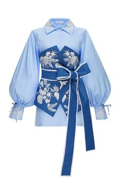 Kpop Fashion Outfits, Stage Outfits, New Outfits, Cool Outfits, Casual Outfits, Womens Fashion, Tropical Garden, Light Blue, Barbie Fashionista