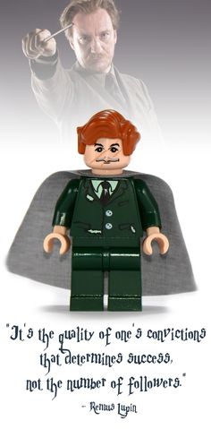 Remus Lupin Lego Minifigure - Harry Potter Collectibles