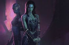 Guardians Of The Galaxy Art Shows The Kick-Ass Gamora We Could Have Had