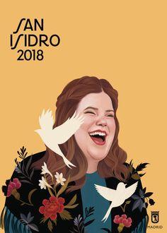 Descarga gratis los carteles de San Isidro 2018 de Mercedes deBellard 7