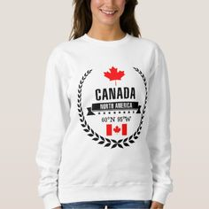 #Canada Sweatshirt - #travel #trip #journey #tour #voyage #vacationtrip #vaction #traveling #travelling #gifts #giftideas #idea