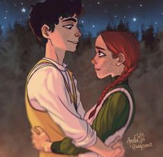 anne of green gables fanfiction Anne Shirley, Anne And Gilbert, Character Art, Character Design, Amybeth Mcnulty, Anne White, Gilbert Blythe, Anne With An E, Illustration Art