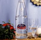 Bouteille evian édition limitée 2012 > Danone Au Naturel Mineral Water, End Of The Year Celebration