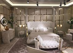 Have a look at this intersting classic bedroom furniture - what an original design and style Bedroom Sets, Bed Design, Home Bedroom, Luxury Furniture, Luxury Bedroom Furniture, Luxurious Bedrooms, Amazing Bedroom Designs, Modern Luxury Bedroom, Luxury Bedroom Master