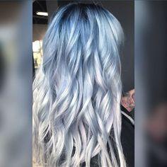 WEBSTA @ hairbyginaolivia - Icy birthday hair for @pamelaelizabeth