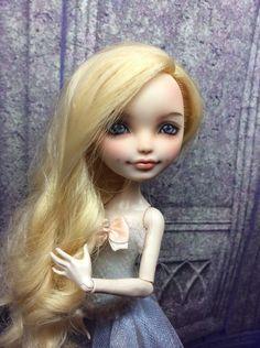 Мои милые Монстрики / Изготовление авторских кукол своими руками, ООАК / Бэйбики. Куклы фото. Одежда для кукол Custom Monster High Dolls, Monster High Repaint, Custom Dolls, Doll Face Paint, Doll Painting, Doll Crafts, Diy Doll, Ooak Dolls, Art Dolls