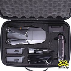 NEW  Carrying Case for DJI Mavic Pro  Splashproof  Durable  Compact  EVA Material  Carry Your Drone with Maximum Protection ** To view further for this item, visit the image link. Note: It's an affiliate link to Amazon