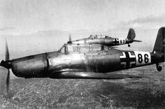 Немецкие учебные самолеты Arado Ar-96