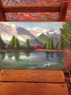 Svizzera paesaggio dipinto da me Painting, Art, Painting Art, Paintings, Kunst, Paint, Draw, Art Education, Artworks