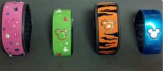 painted magic bands. http://www.flickr.com/photos/29616826@N06/11022241463/