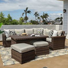 Newport Outdoor Living Set