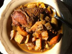 Fall Harvest Chicken Stew - Gluten Free Dairy Free Paleo Recipe with Persimmons and Butternut Squash #seasonal | From Jessica's Kitchen