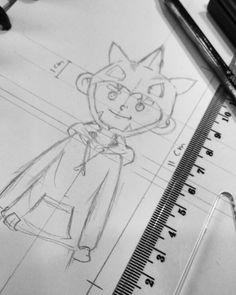 Drawing karakter allvin garamar