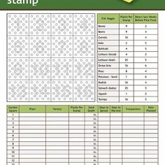 Trust image regarding garden planning worksheet
