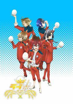 Anime 'Love Kome -We Love Rice-' Visual | Spring 2017