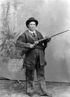 Calamity Jane  Calamity Jane was born in Missouri in the 1850's. Jane was a sharpshooter who started perfecting her skill at a very young age. She earned her nickname after rescuing an army captain after his South Dakota camp was invaded by Native Americans.