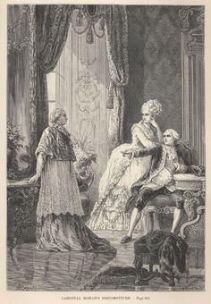 Louis XVI, Marie Antoinette, and the Cardinal de Rohan