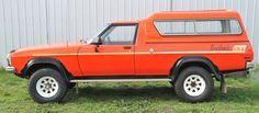 1978 Holden Overlander 4x4 side