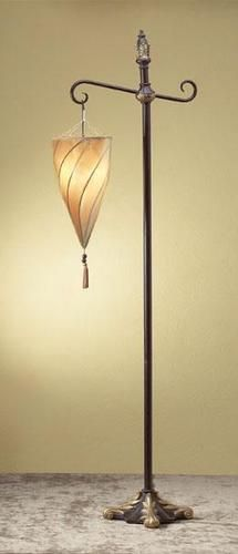 Moroccan Shade Tall Floor Lamp. $66... not bad at all!