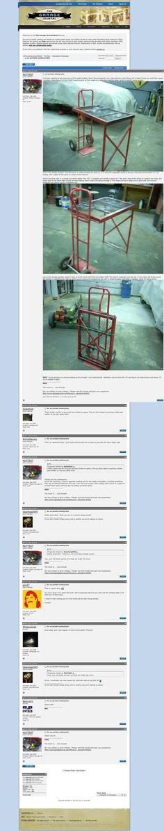 Portable Welding table Idea