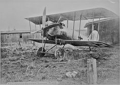 Abandoned Pfalz DVIII at the end of the war: a contemporary of the excellent Fokker DVII, and whilst it was successful enough pilots generally much preferred the latter. Only around 40 are believed to have entered service.