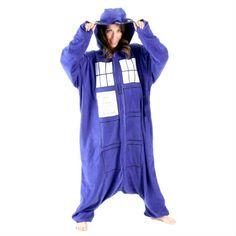 TARDIS Adult Onsie! SO MUCH YESSSS