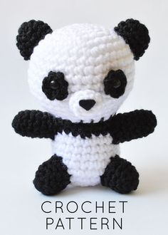 Pete the Little Panda Crochet Pattern