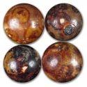 Shooter Bennington marbles (brown)