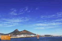 Beautiful Day on the water in Cape Town South Africa