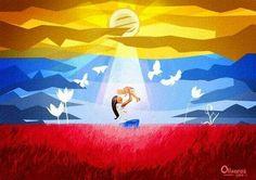 Arte con nuestra Bandera en el Día de las madres