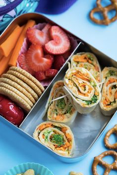 Healthy Packed Lunches, Lunch Snacks, Healthy Snacks, Veggie Lunch Ideas, Bento Lunch Ideas, Good Lunch Ideas, Veggie Food, Bento Box Lunch For Adults, Easy Lunch Boxes