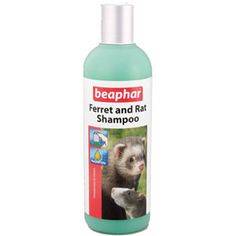 Shampoo for Ferrets and Rats by Beaphar is a gentle shampoo that is formulated to cleanse the dirt and naturally strong odours associated with ferrets and rats. Pine fragrances for a long lasting pleasant scent; Mild enough to be used frequently; Conditions the coat without stripping its natural oils.