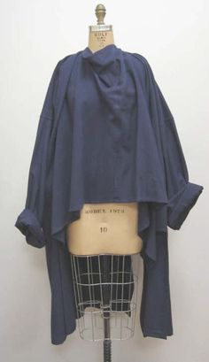 Yohji Yamamoto Coat 1982...I would throw this over everything...and by 'throw' I mean 'carefully place' ;) CC