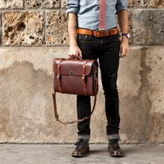 Marvelous Make a Hobo Bag Ideas. All Time Favorite Make a Hobo Bag Ideas. Satchel Bags For Men, Mens Satchel, Men Bags, Leather Briefcase, Leather Crossbody Bag, Laptop Briefcase, Side Bags, Messenger Bag Men, Casual Bags