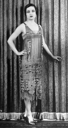 Original 1920s flapper photo