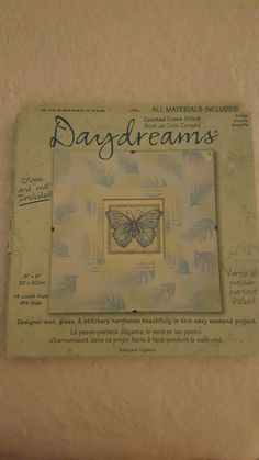 Dimensions Daydreams Counted Cross-Stitch Kit by yourgalfridayfl on Etsy