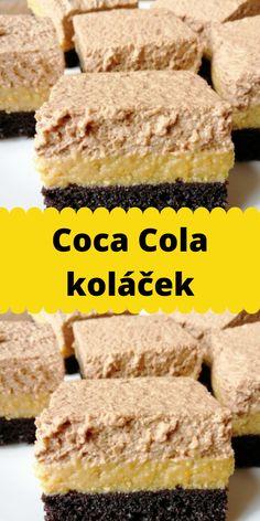 Krispie Treats, Rice Krispies, Coca Cola, Banana Bread, Cooking Recipes, Sweets, Desserts, Food, Mascarpone