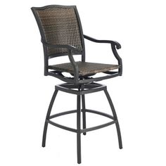 Outdoor Bar Stools for Patios and Bars Brought to You by Family Leisure. Huge Selection from Top Named Brands and Shipping is Free Nationwide. Tiki Bar Stools, Wicker Bar Stools, Bar Chairs, Outdoor Drapes, Outdoor Chairs, Modern Outdoor Bar Stools, Furniture Decor, Furniture Design, Outdoor Furniture