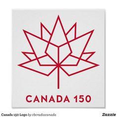 Canada 150 Logo Poster
