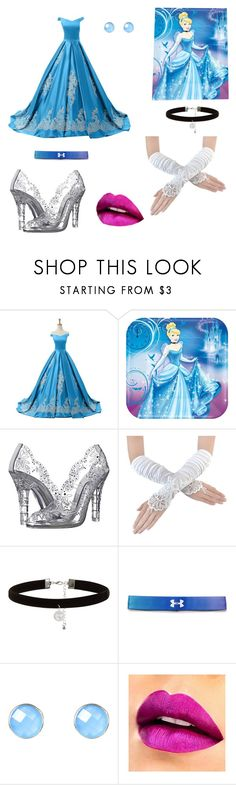 """""""Cinderella 💙"""" by angel-barbara ❤ liked on Polyvore featuring Reception, Dolce&Gabbana, New Look, Under Armour, Latelita, men's fashion and menswear"""