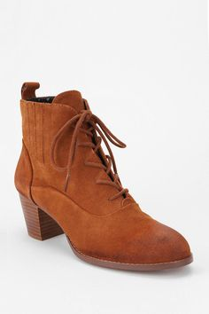 Dolce Vita Joli Suede Lace-Up Ankle Boot - $119